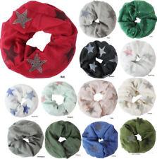Glitzer Damen-Schals aus 100% Baumwolle