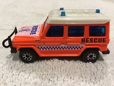 Matchbox Toy 1984 Mercedes Benz 280 GE Rescue