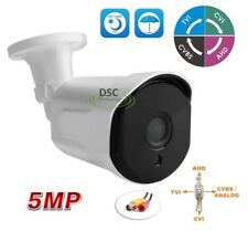 HD 4-in-1 5MP TVI/AHD Small Bullet Outdoor Security Camera - Support UTC