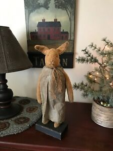 Arnett's Country Store Wool Rabbit RARE