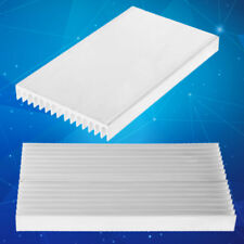 1 PC 100*60*10mm Aluminum Heat Sink DIY Cooler For IC Chip LED Power Transistor