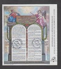 France - Bloc feuillet oblitéré - Révolution Française - N° 11 (2596 à 2599) -TB
