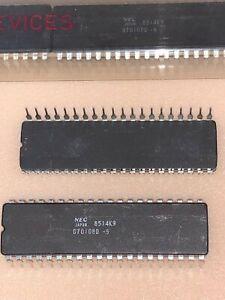 NEC V20 CPU Upgrade for 8088  D70108D-5 Ceramic Rare NOS  Lot of (1)***
