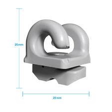 Grevinga® FUN Netzhaken für Tornetze in GRAU 10er Set 109491-01