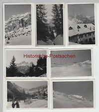 (f6735) 7x ORIG. foto Dolomiti, Dolomiti, tra l'altro albergo rifugio Valentini, sella