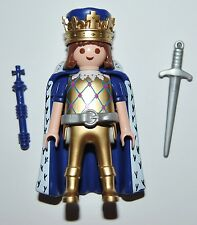 Series 7-H1 Rey dorado playmobil serie 5537 medieval,king