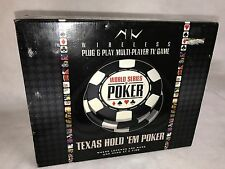 New World Series of Poker wireless plug-n-play 15-n-1 TV Game (E1)