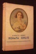I ROMANZI DELLA ROSA BIBLIOTECA DELLE SIGNORINE RENATA ORLIS N 70 1939