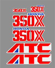 HONDA ATC 350X DECAL GRAPHIC SET Stickers