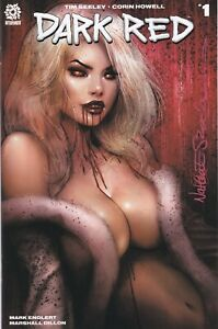 🔥🔥  Dark Red #1 Special Edition Signed by ~ Nathan Szerdy NM 2020