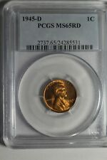 1945 D Lincoln Wheat Cent MS65 RD #531