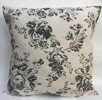 Cabbages and Roses Paris Black Designer Cushion Cover