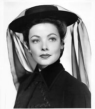 """Beautiful GENE TIERNEY lovely vintage 1947 """"The Ghost and Mrs. Muir"""" photograph"""