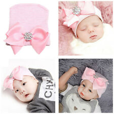 Bébé Nouveau-né Naissance Chapeau Bonnet Crochet Tricot Photographie Déguisement