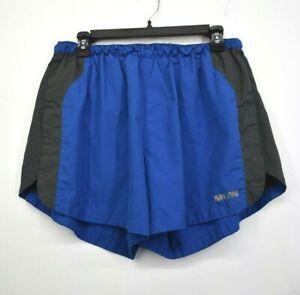 Vintage Pearl Izumi Men Elastic Waist Zipper Pocket Activewear Cycling Shorts  L