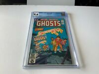 GHOSTS 100 CGC 9.6 WHITE PAGES COOL INFINITY COVER DC COMICS 1981