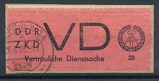 Ungeprüfte Briefmarken aus der DDR (ab 1945) mit Briefstück-Erhaltungszustand