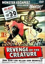REVENGE OF THE CREATURE -  3D MOVIE ANAGLYPH STEREO DVD W/ GLASSES