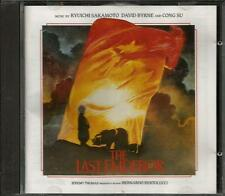 The Last Emperor soundtrack CD Ryuichi Sakamoto David Byrne Cong Su IMPORT