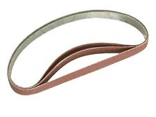 ASSORTED CLOTH SANDING POWER FILE BELT- 455 x 13mm Powerfile Belts - Pack of 10