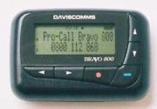 Daviscomm Bravo 800 Alpha-Numeric Pager 929-932 Mhz Flex