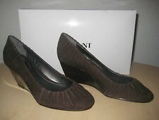 Alfani Shoes Size 5.5 M New Womens Abby Dark Brown Wedge Heels NWB