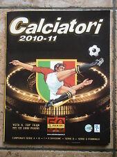 CALCIATORI 2010  2011 '10 '11 album figurine PANINI COMPLETO TUTTI AGGIORNAMENTI