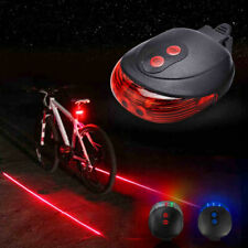 Bicycle Safety Equipment Accessories Bike Flashlight Bicycle Tail Light Laser