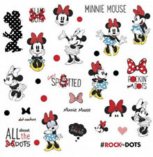 MINNIE MOUSE rocks the dots wall stickers 35 decals Disney room decor