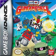 SD Gundam Force GBA New Game Boy Advance