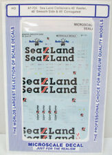 Microscale 87-731 Sea Land Containers Decals