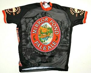 Deschutes Brewery Mirror Pond Pale Ale Cycling Jersey All Over Print Men XXL EUC