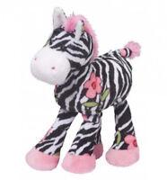 "DOUGLAS Cuddle Toys 10"" Gabriella Flower Zebra Stuffed Animal - 4253 NEW"