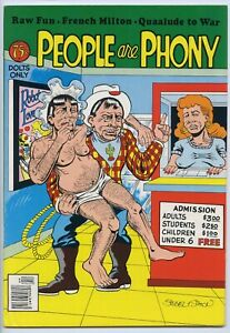 PEOPLE ARE PHONY - Comix - 1st printing