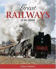 Great Railways of the World (AA Illustrated Reference) (Aa),Julian Holland