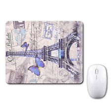 Paris Eiffel Tower Lovely Mouse Mat Pad Notebook Computer Laptop Mice