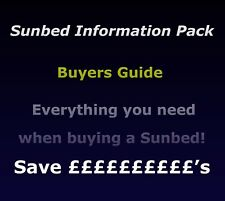 Vertical Sunbed - Information Pack, everything you need to know when buying!!