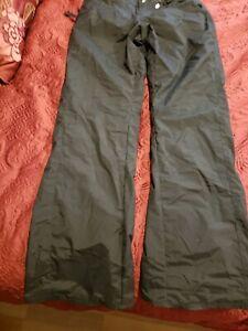 Volcom Nimbus Women Youth Black Ski Snowboard Pants Black Size X- Small (XS) 4