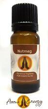 AROMA ENERGY - 10ML PURE ESSENTIAL OIL - NUTMEG - THERAPEUTIC GRADE