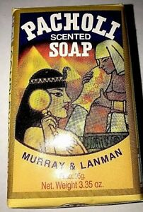 Patchouli Scented Soap by Murray & Lanman 3.3 Oz Patchouli Oil Scented Soap