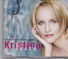 Kristina Bach-Unverschaumte Blaue Augen cd maxi single 2 tracks