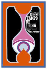 Movie Poster for japanese film DIGNO campo de lucha.Home room art decoration