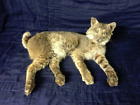 Awesome looking New Bobcat Lying down Mount Log Cabin Hunting Lodge Taxidermy