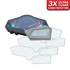 3 x panel de Kawasaki Z300 2013+ protector de pantalla: Ultra Claro