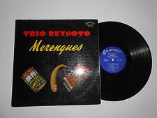 "LP- TRIO REYNOSO "" MERENGUES"" ON GUARANI REC."