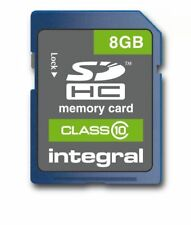 Integral 8GB INSDH8G10V1 SDHC Class 10 Memory Card up to 30MB/s
