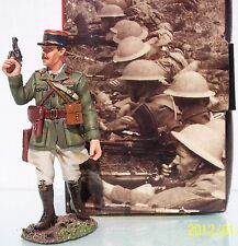 KING & COUNTRY FIELDS OF BATTLE FOB034 FRENCH OFFICER IN ACTION MIB