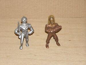 Vintage Ajax Archer Hard Plastic Space Man Figures