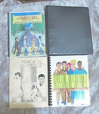 VINTAGE REAL GHOSTBUSTERS FANZINE LOT OF 4 DIFFERENT FREE SHIPPING!   LOT 51