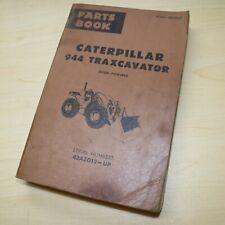 Cat Caterpillar 944 Parts Manual Catalog Front End Wheel Loader Book 43a Series